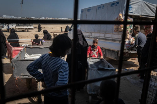 Syrie : MSF dénonce la dangerosité du camp d'Al-Hol suite au meutre d'un membre de son personnel