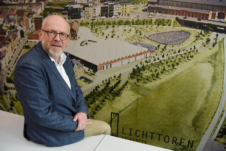 Volgens Philippe Janssens biedt hoogbouw meer kansen voor open en groene ruimte. ©Jan Van der Perre