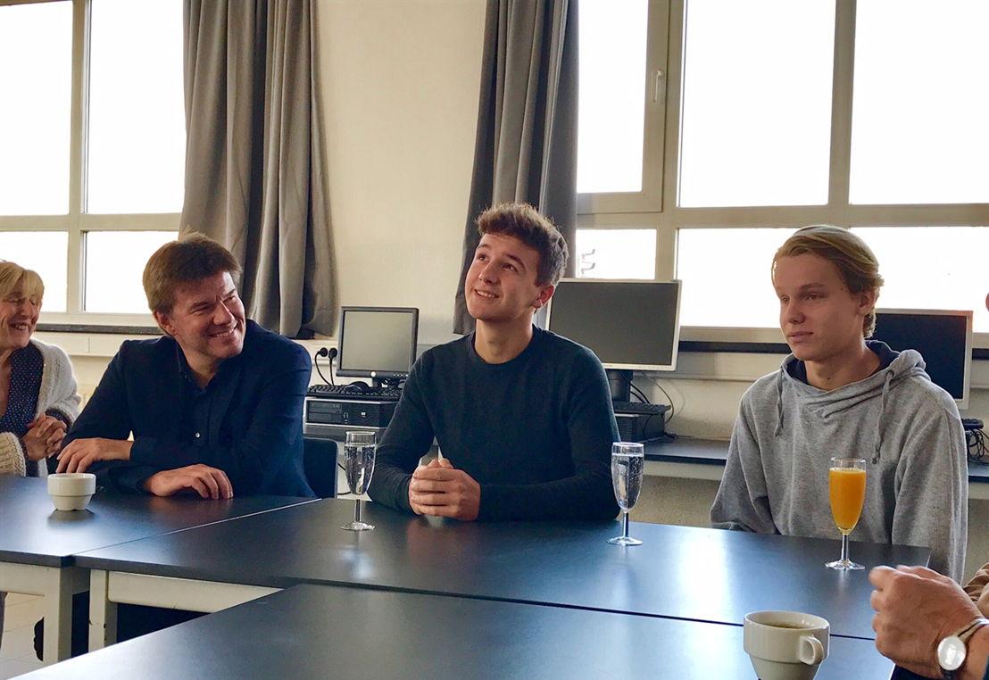 Gesprek met leerlingen over hun ervaringen met Cultuur in de spiegel