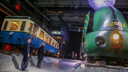 Brussels Gewest ondersteunt Europalia Treinen
