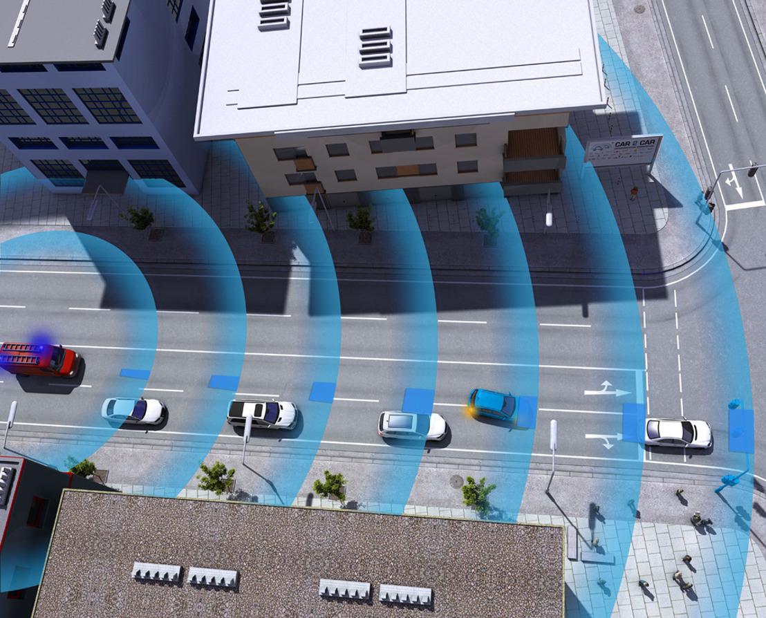 Le trafic urbain du futur sera caractérisé par des véhicules « intelligents »