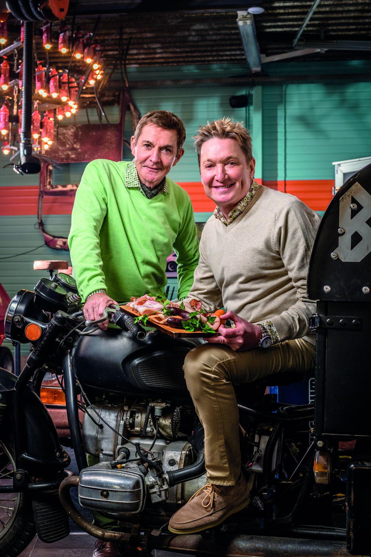 Foto: Luc Appermont en Bart Kaëll zijn fan van de korte keten