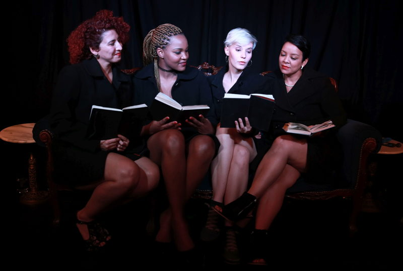 A scene from Naked Girls Reading. Image by Nardus Engelbrecht