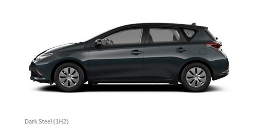 Auris 1H2 Dark Steel Metallic
