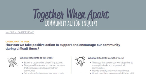 """TIP: Chicago Public Schools promotes """"Together While Apart"""""""