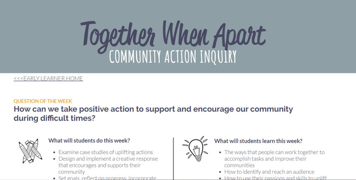 "TIP: Chicago Public Schools promotes ""Together While Apart"""