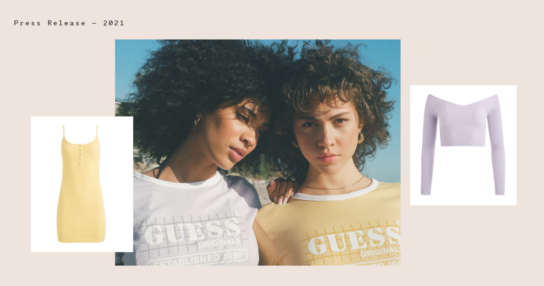 Introducing the GUESS Originals Summer 2021 Collection
