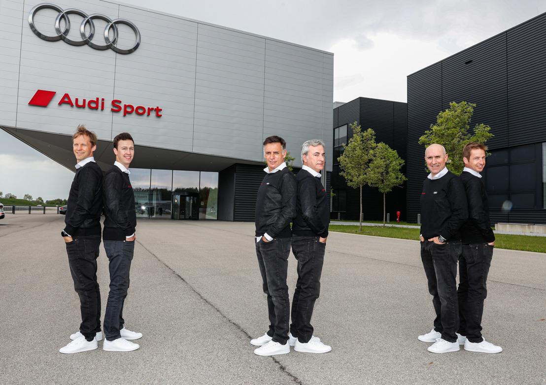 Audi avec la « Dream Team » au Rallye Dakar