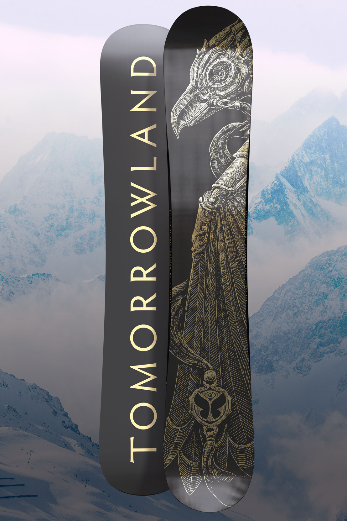 Tomorrowland unveils limited edition ski set and snowboards