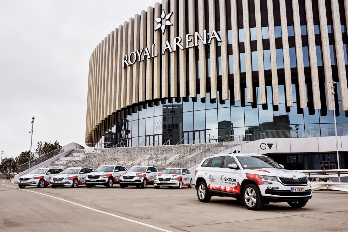 ŠKODA goes to Denmark for IIHF Ice Hockey World Championship