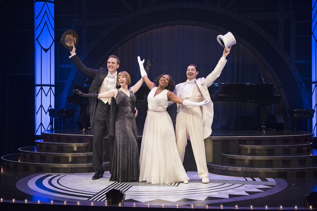Andrew MacDonald-Smith, Lauren Bowler, Katrina Reynolds, and John Ullyatt in Puttin' on the Ritz - The Music and Lyrics of Irving Berlin (2016) / Photos by Emily Cooper
