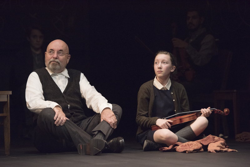 Paul Rainville and Sophia Irene Coopman in The Children's Republic by Hannah Moscovitch / Photos by David Cooper