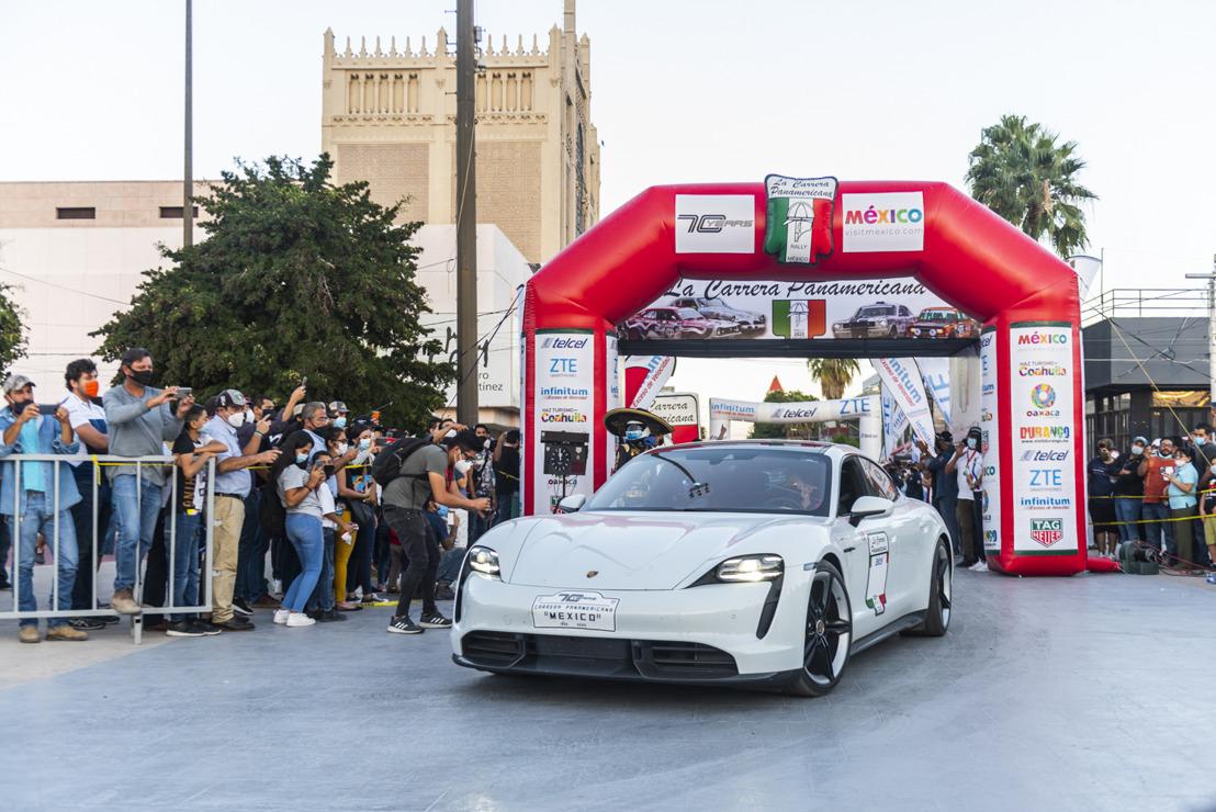 Dos Porsche Taycan participarán en la Carrera Panamericana