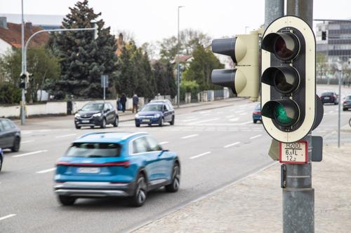 Audi se connecte au réseau des feux tricolores en Europe