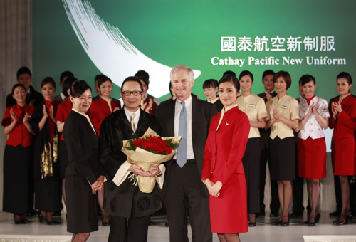 Cathay Pacific launches new uniform for frontline staff worldwide