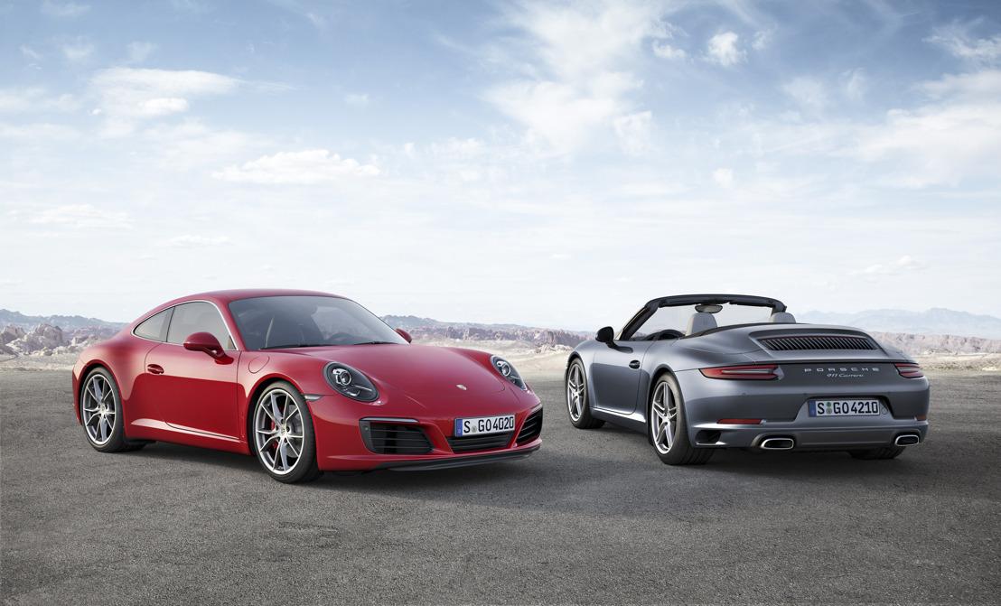 Nog meer rijplezier, betere prestaties en een lager verbruik: de nieuwe Porsche 911 Carrera