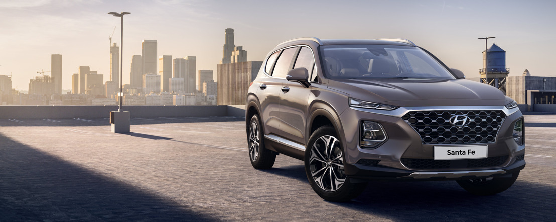 Hyundai Motor reveals first images of the Santa Fe