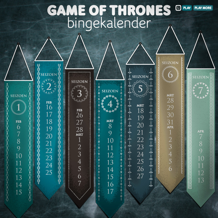 Nog 67 dagen: bereid jezelf voor op seizoen 8 van Game of Thrones