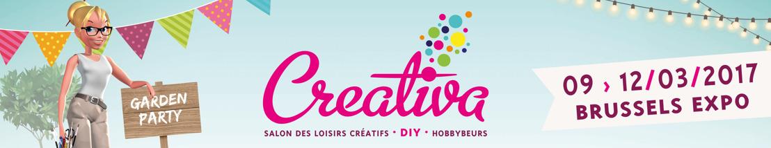 Venez fêter les 20 ans de Creativa Bruxelles, le salon n°1 des loisirs créatifs & du DIY !