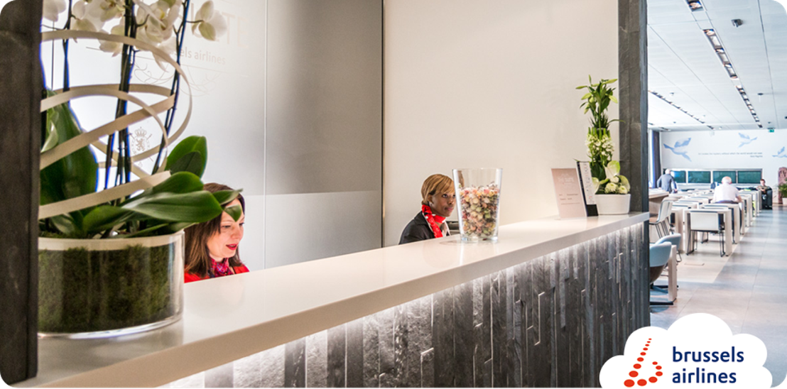 Brussels Airlines opent 'The Suite', een nieuwe lounge op Brussels Airport