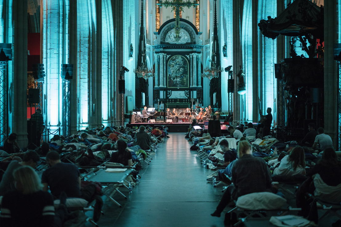 Concert Max Richter 7/9/2018_Kathedraal photo Ans Brys