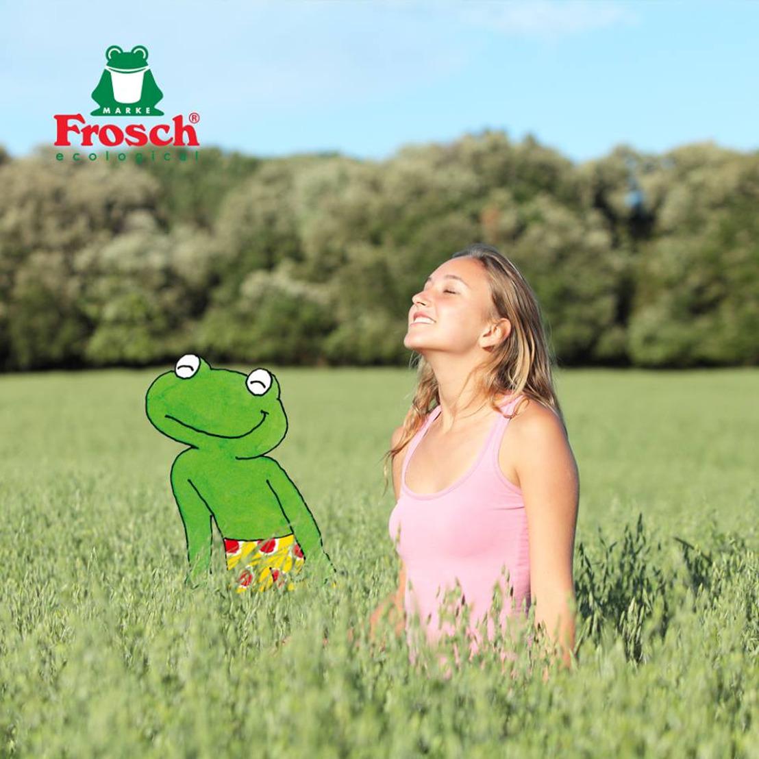Frosch laat een frisse wind door uw lenteschoonmaak waaien