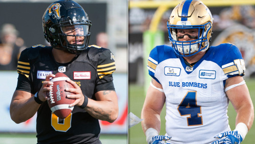 2018 CFL DIVISION ALL-STARS ANNOUNCED