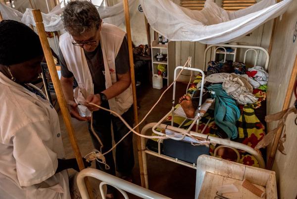 Hôpital MSF de Bangassou, février 2017. (c) Borja Ruiz Rodriguez/MSF