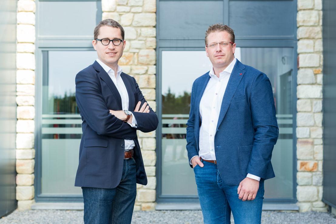 Yves Warnant et Stéphane Dauvister, gedelegeerd bestuurders van Dauvister
