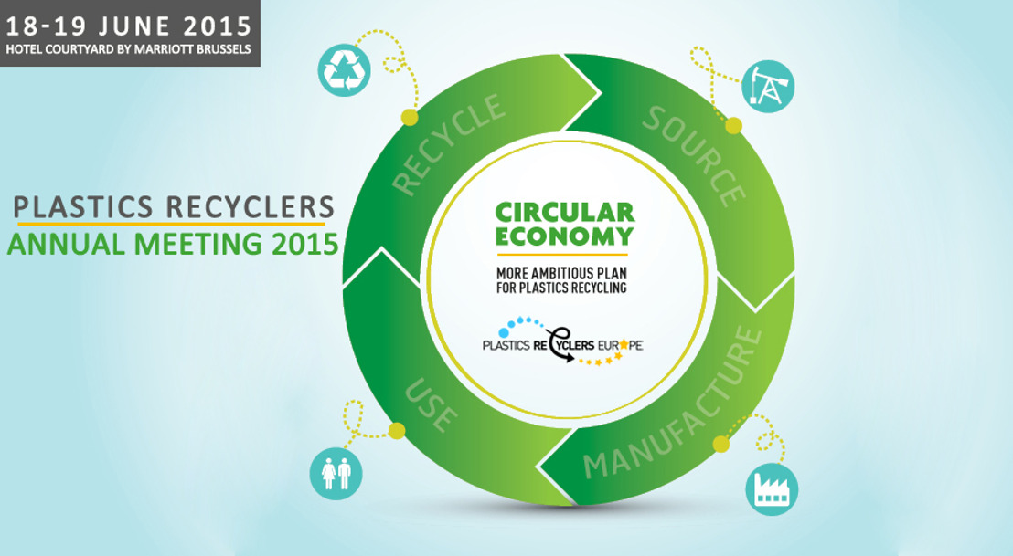Guarantee your place now at the Plastics Recyclers Europe Annual Meeting 18 & 19 June 2015