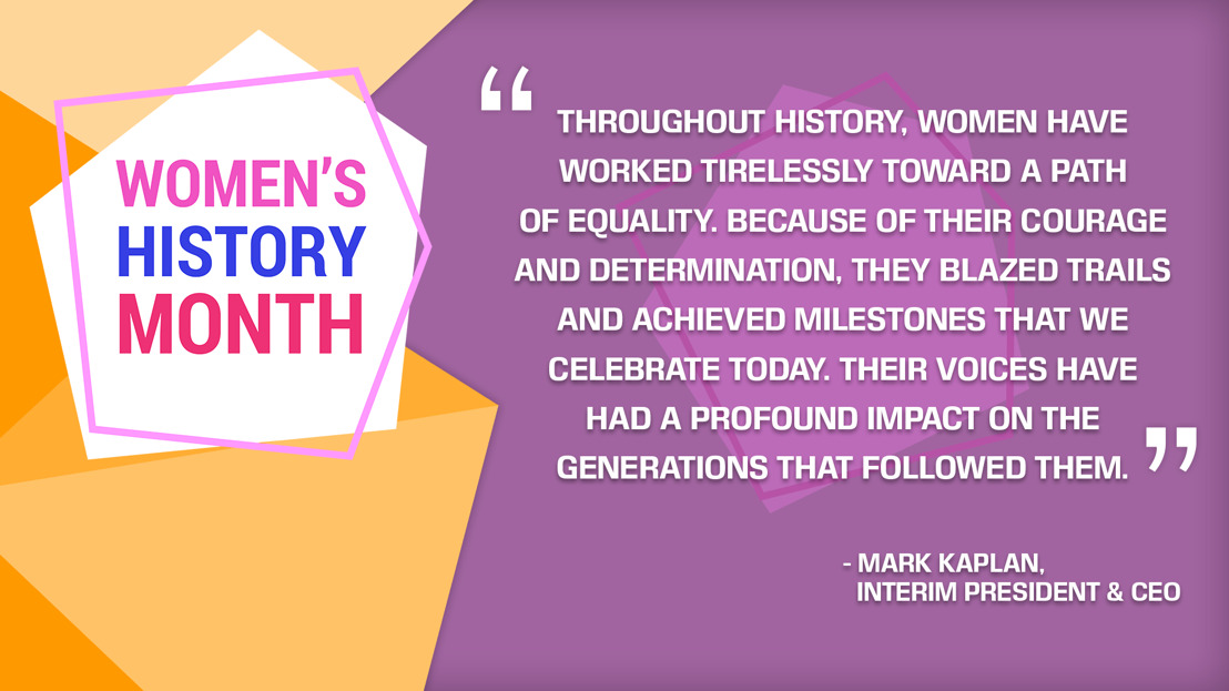 Women's History Month: A Time to Remember, Celebrate and Learn