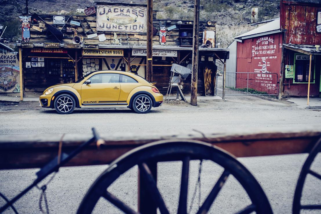 De nieuwe Beetle Dune: nieuwe cross-over start als coupé en cabriolet