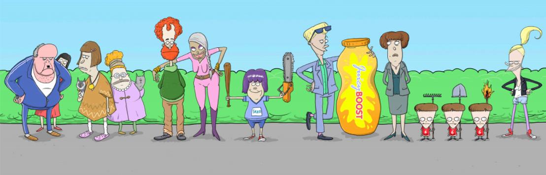 Belgisch productiehuis Caviar maakt eerste animatiefilm THE STREET PARTY