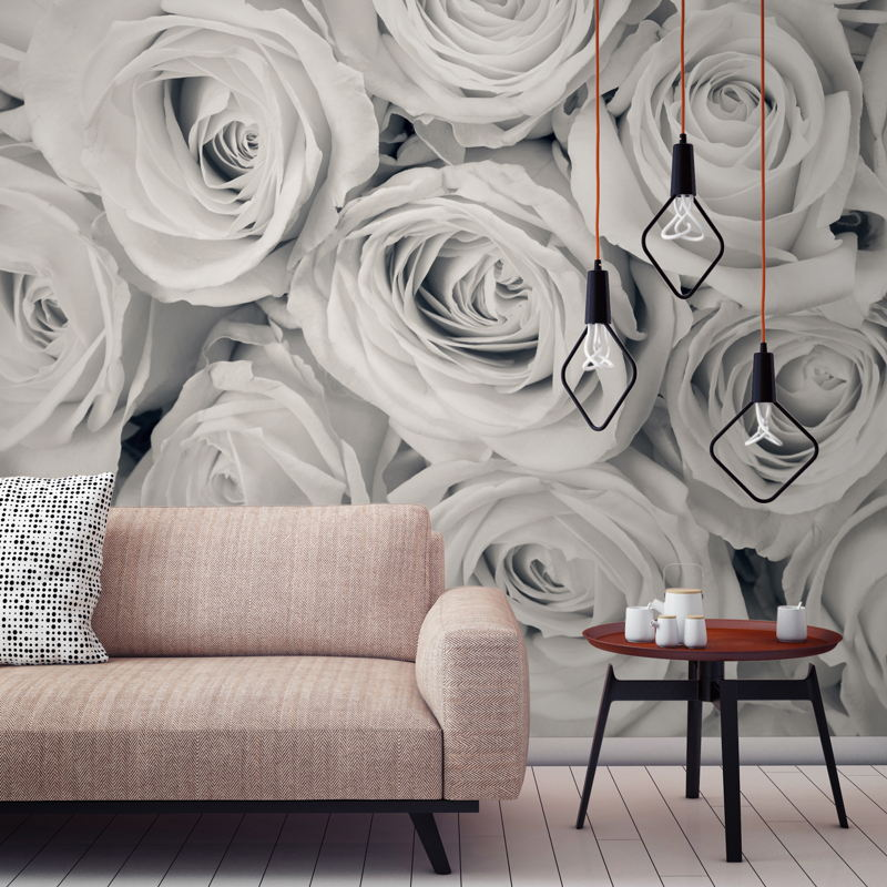 Rose Mist Wallpaper Mural