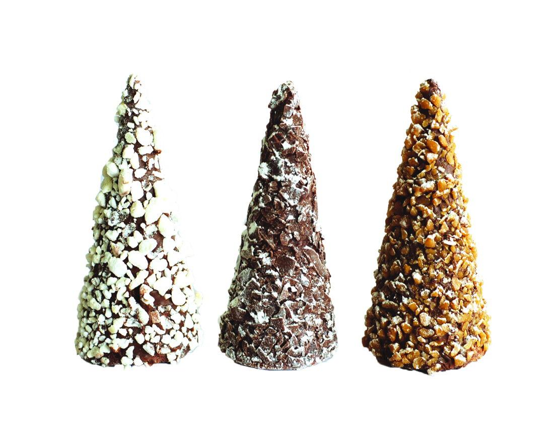 Corné Port-Royal - Chocolade kerstboompjes - 2,90stuk euro