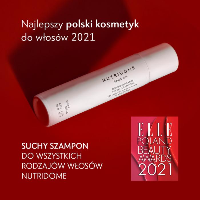 NUTRIDOME laureatem ELLE International Beauty Awards 2021