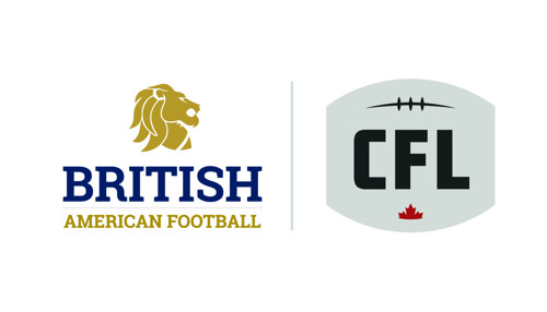 BRITISH AMERICAN FOOTBALL ASSOCIATION TO PARTNER WITH THE CANADIAN FOOTBALL LEAGUE