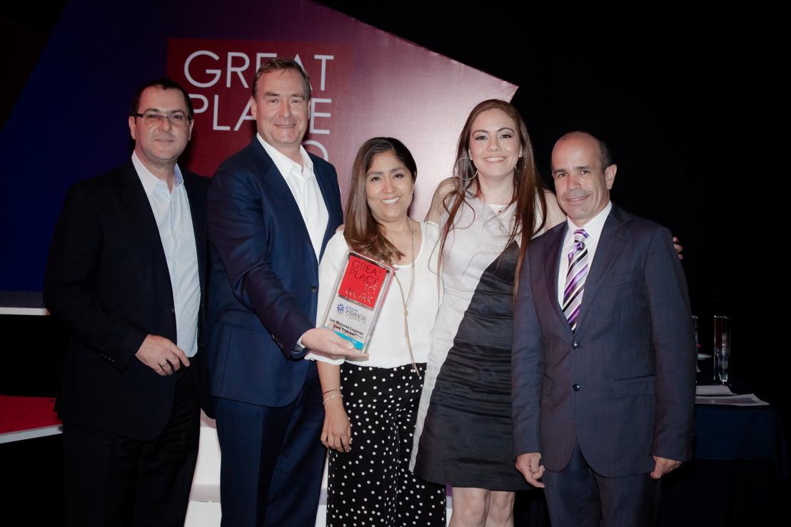 Grupo Vidanta: Siete años consecutivos siendo un Great Place to Work