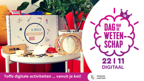 VUB launches activity box for 10th edition of Science Day