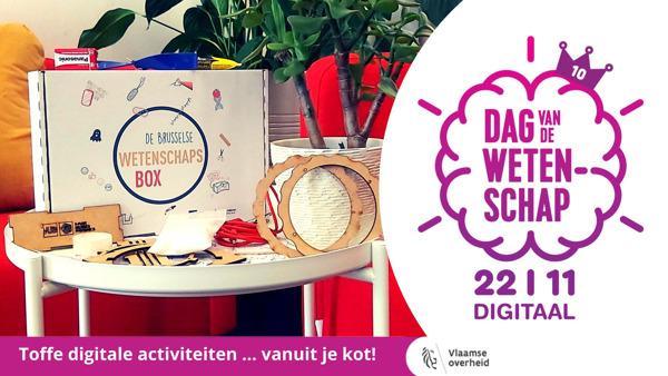 Preview: VUB lanceert doe-box voor 10de editie Dag van de Wetenschap