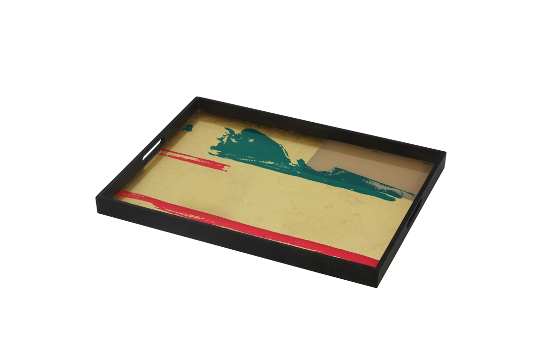Notre Monde Abstract Vista tray