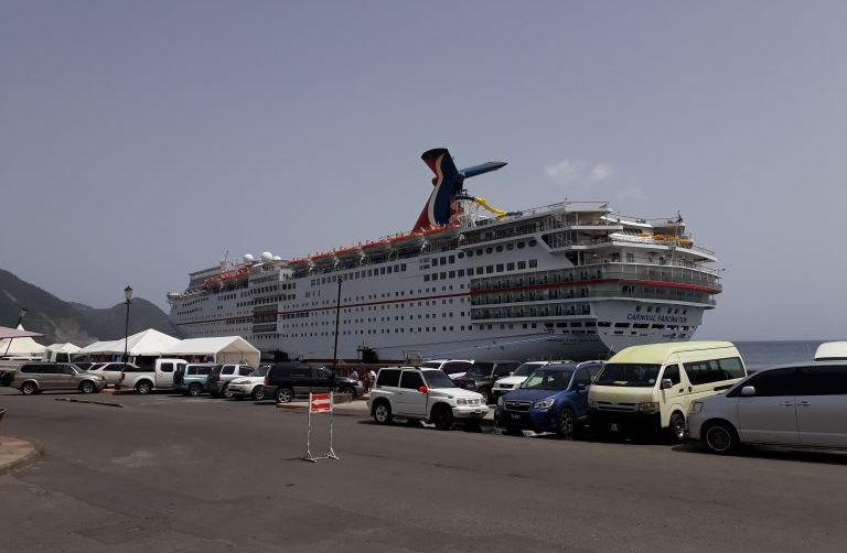 Carnival Cruise Lines resumed its regular schedule of summer visits to Dominica since 2010
