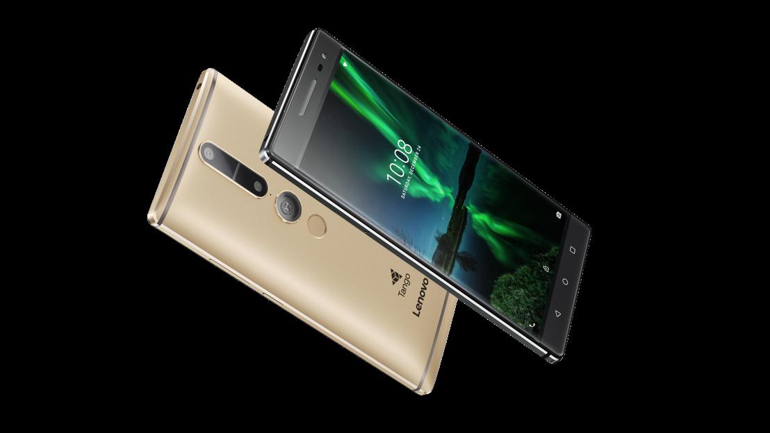 Lenovo dévoile le PHAB2 Pro, le premier smartphone AR grand public au monde avec la technologie Tango