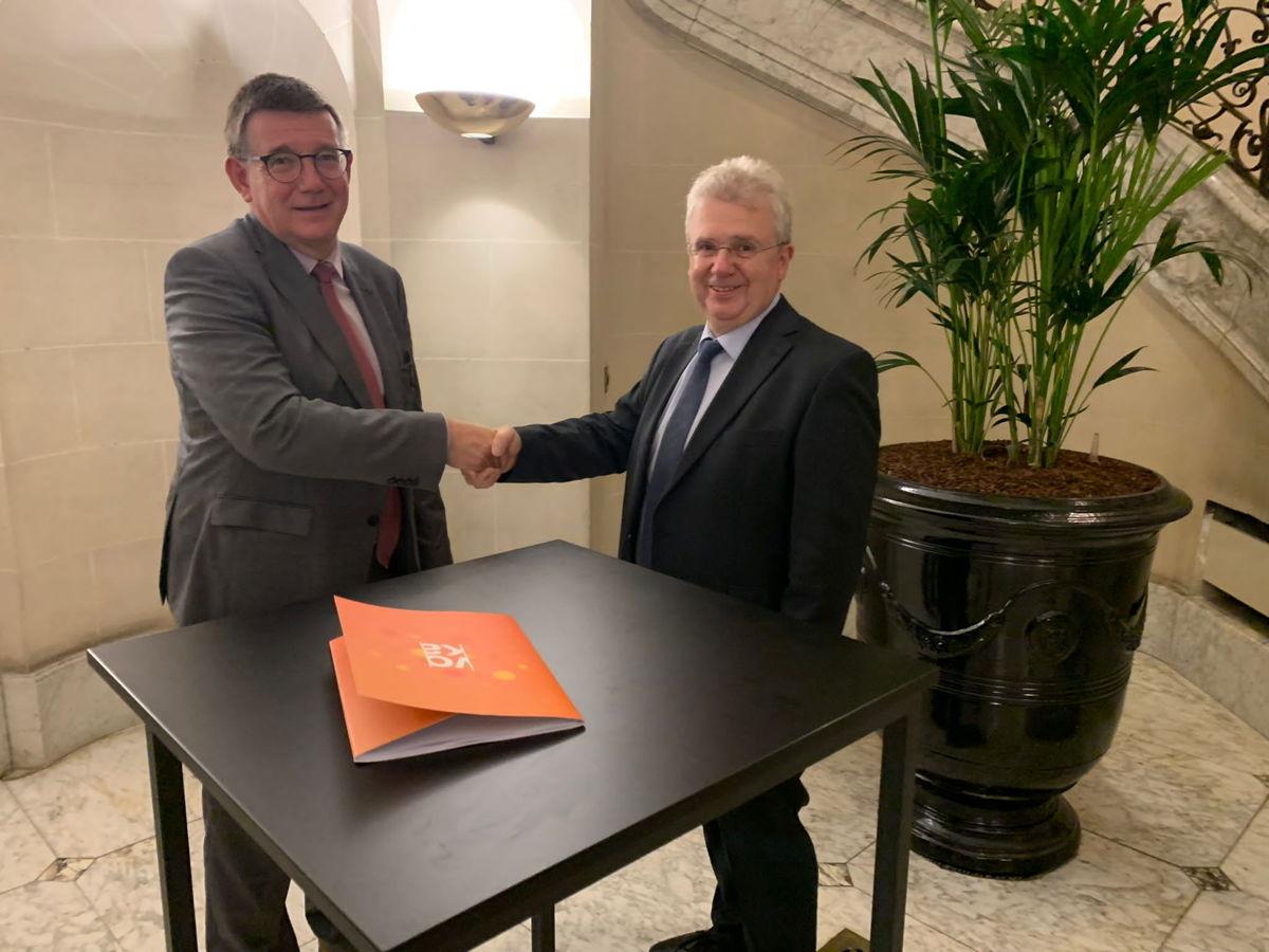 Ondertekening samenwerkingsovereenkomst Voka-Credendo