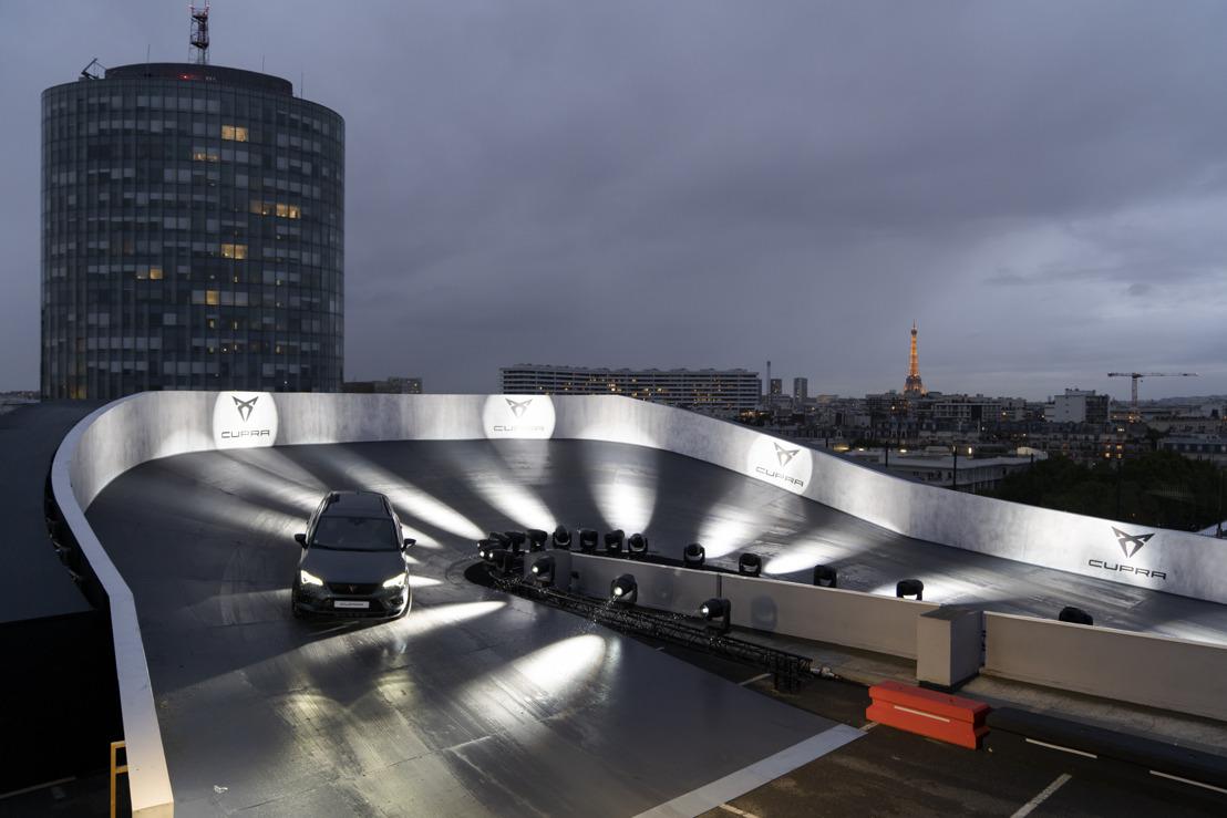 CUPRA prend de la hauteur sur une piste placée sur un rooftop à Paris