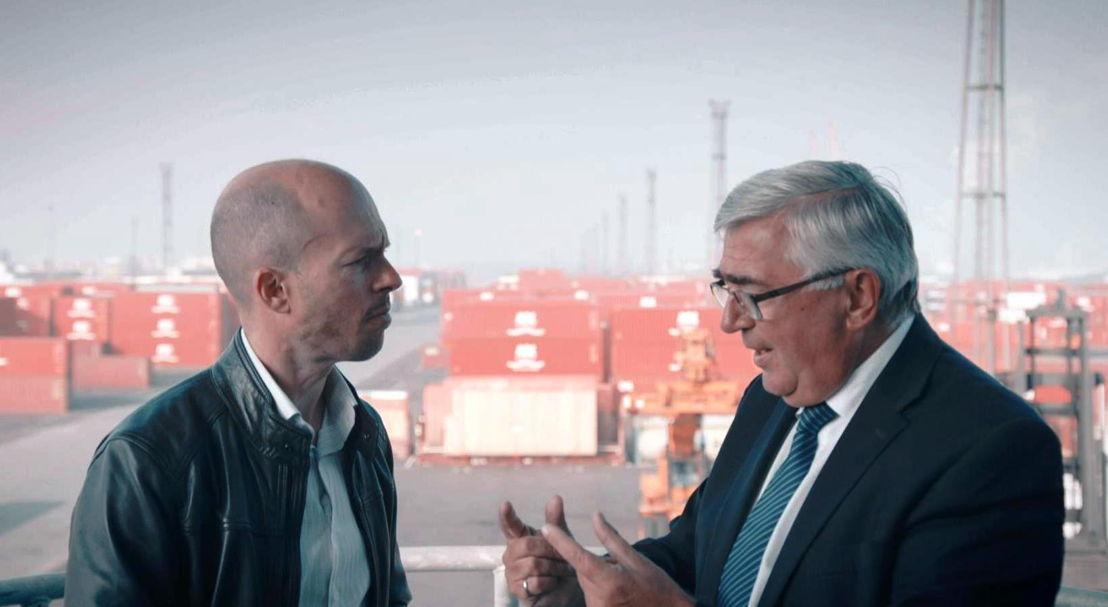 Tom Van de Weghe en Eddy Bruyninckx - (c) VRT