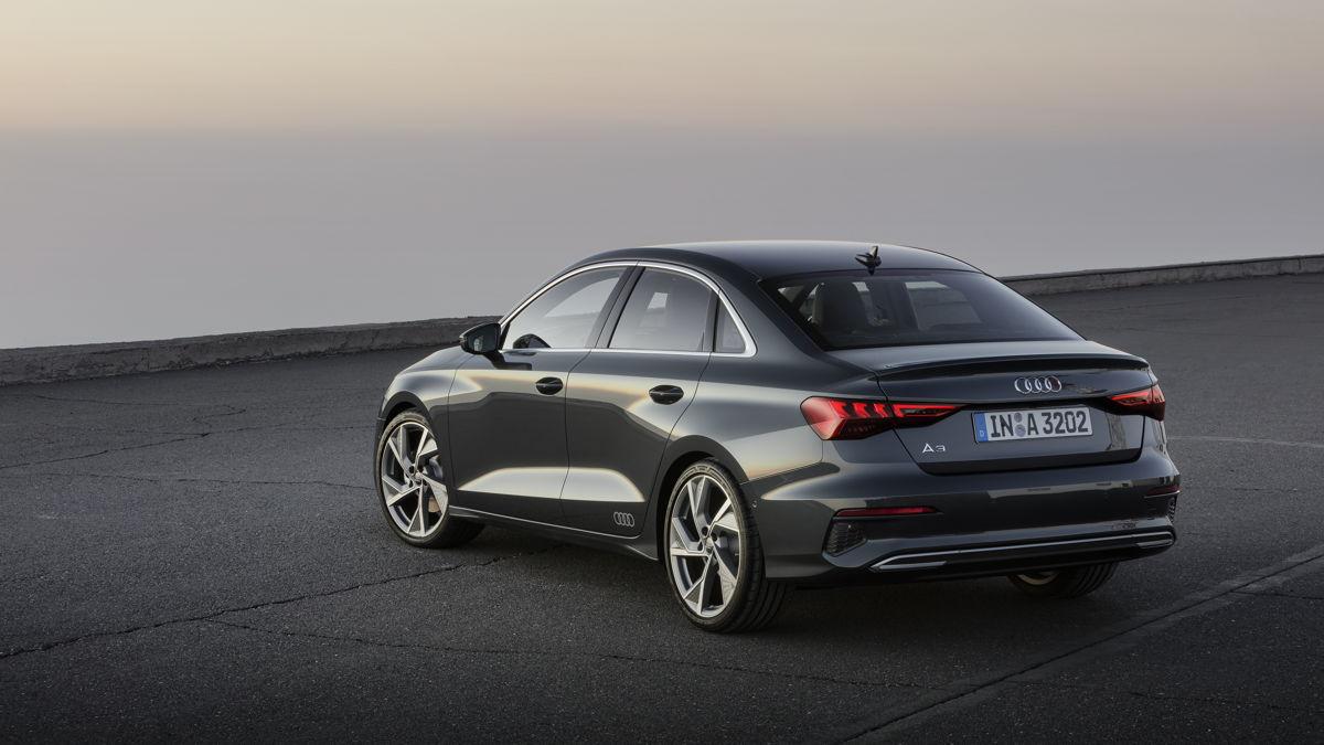 Audi A3 berline arrière