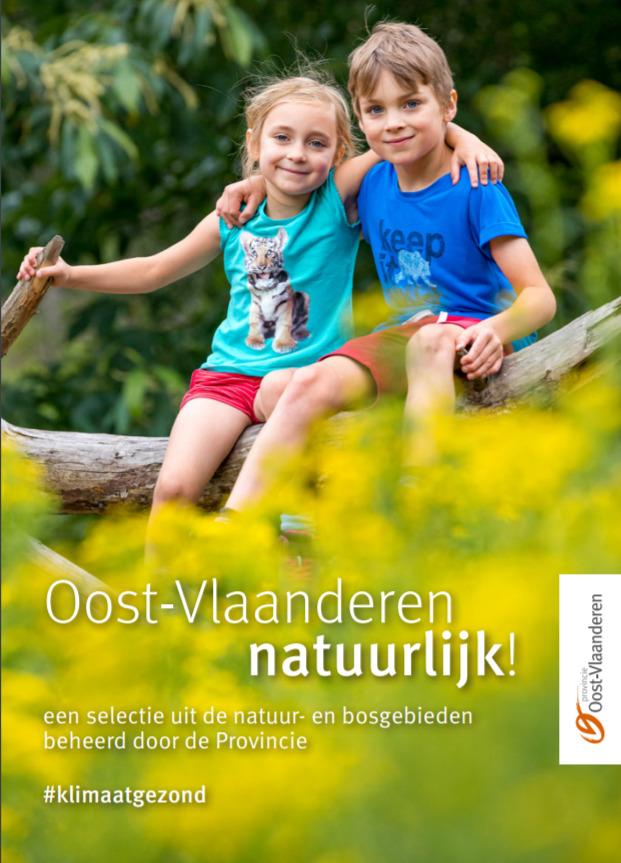 Brochure 'Oost-Vlaanderen natuurlijk!' opnieuw beschikbaar