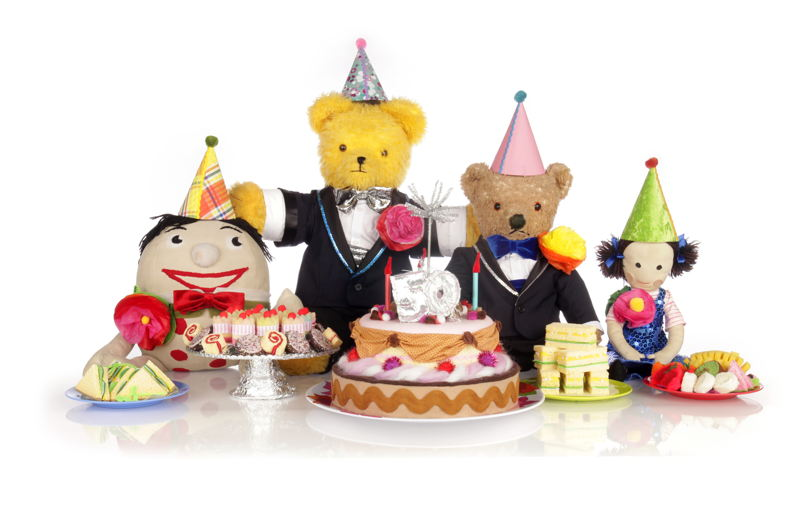 ABC KIDS' Play School's Humpty, Big Ted, Little Ted and Jemima celebrate 50 years on TV