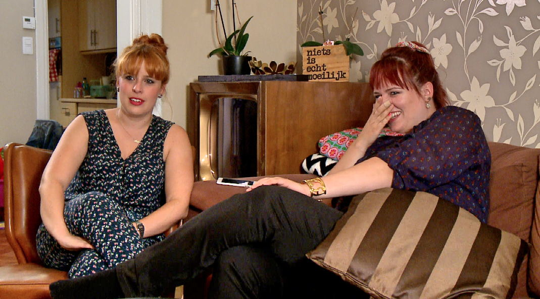 Maja en Ellen<br/>Hallo televisie! (c) VRT